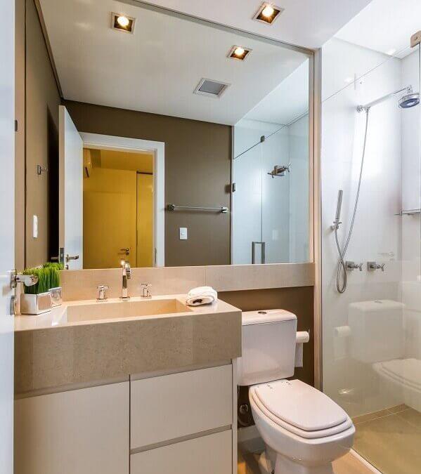 Dicas sobre como deixar o banheiro de apartamento mais aconchegante e funcional.