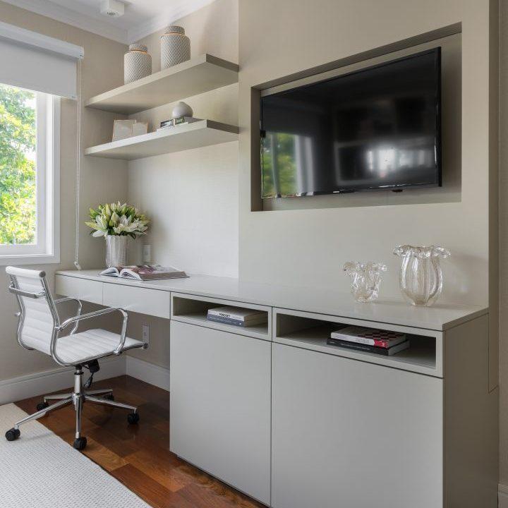 Móveis Sob medida - Home office - É possível criar espaços de trabalho tranquilos, funcionais e produtivos mesmo em espaços reduzidos.