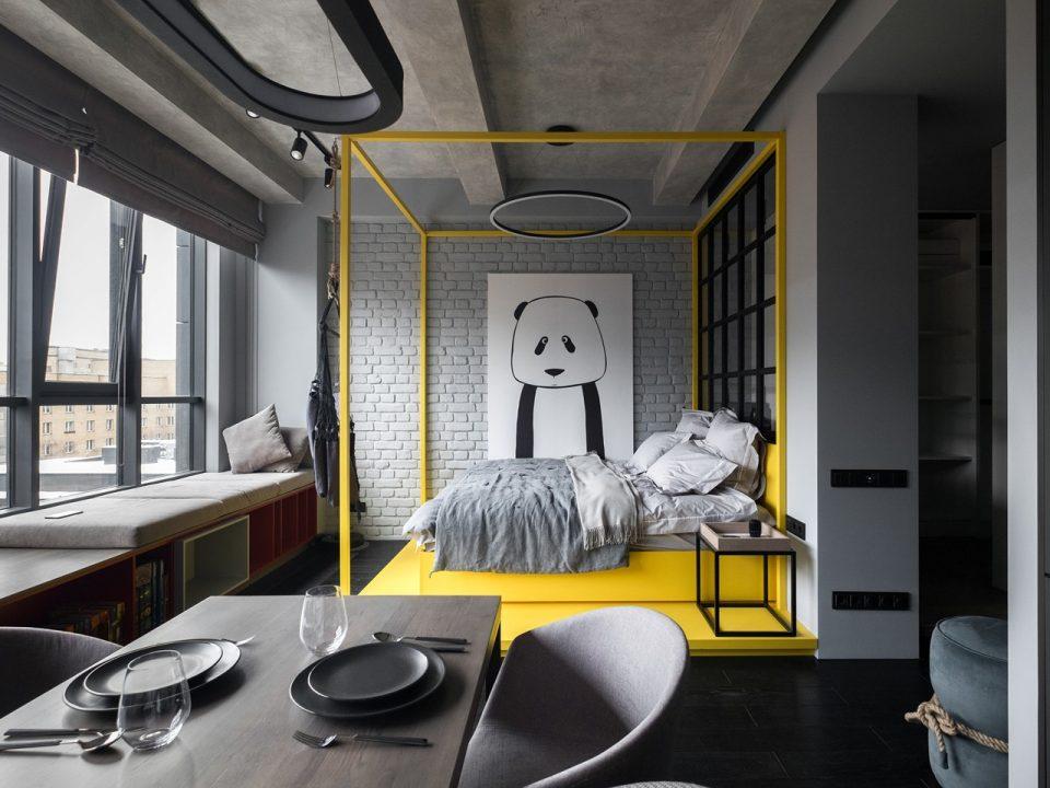 Jeitos de usar a cor para delimitar espaços na decoração